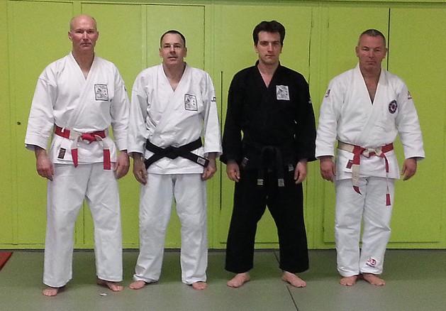 v.l.n.r. Guido Lichtschlag, Marco Cammarata, Stefan Kretschmann, Karl-Heinz Bergers